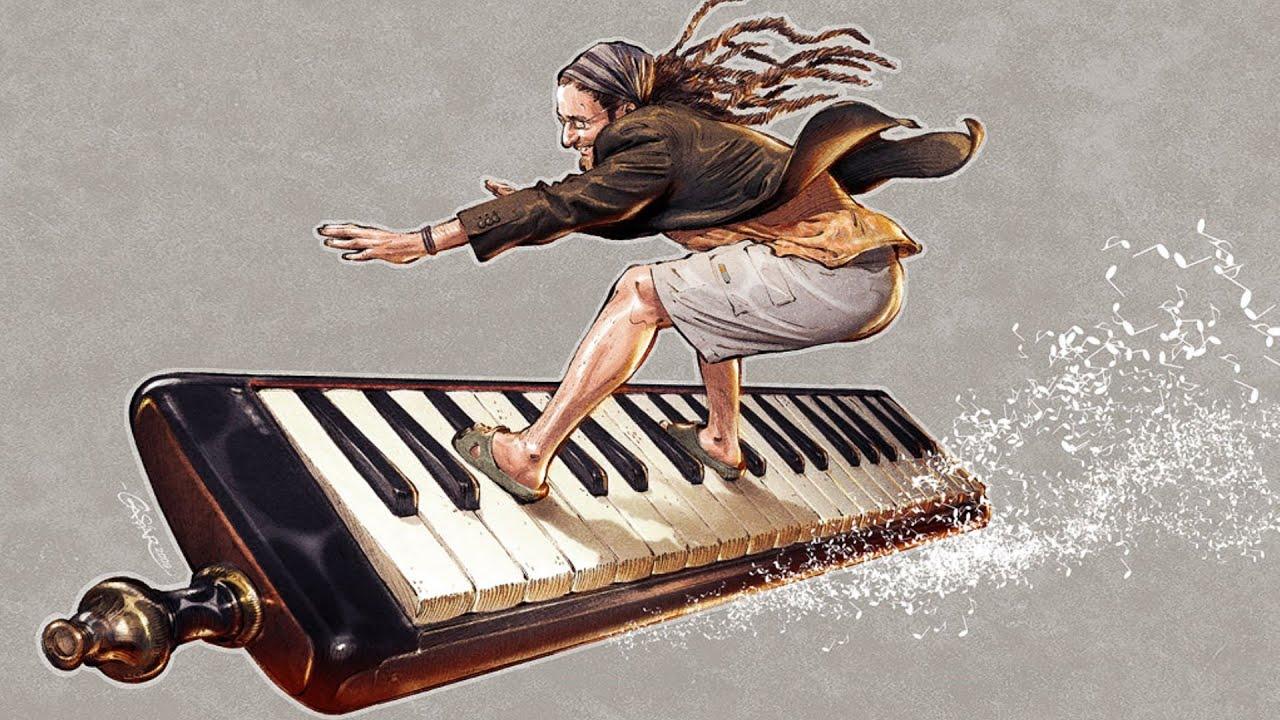Прикольные картинки по музыке