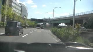 吹田IC(インターチェンジ)で中央環状線東向きから近畿自動車道松原方面へ!!
