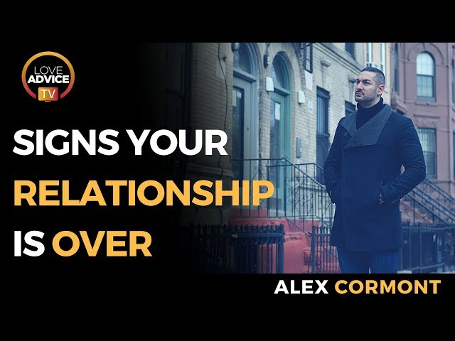 Signs Your Relationship Is Over | Plus… 3 Things To SAVE IT!