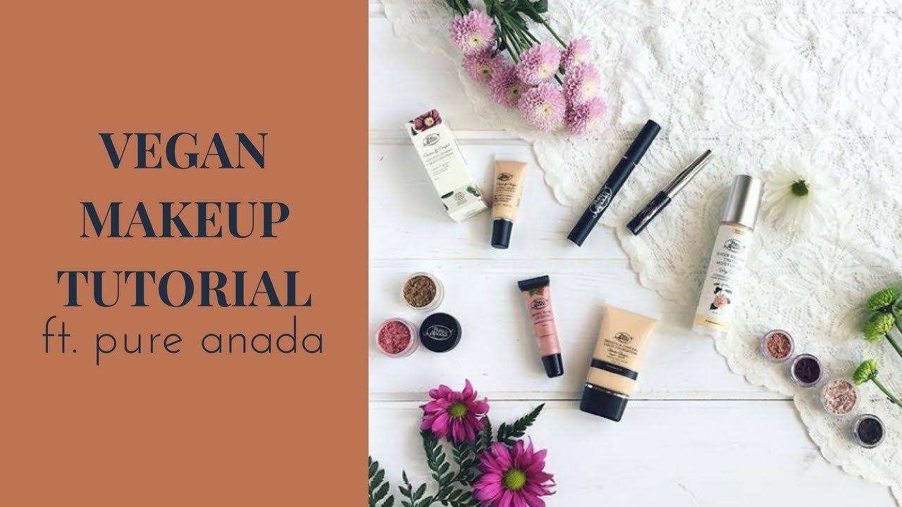 Vegan natural makeup review ft pure anada youtube vegan natural makeup review ft pure anada izmirmasajfo