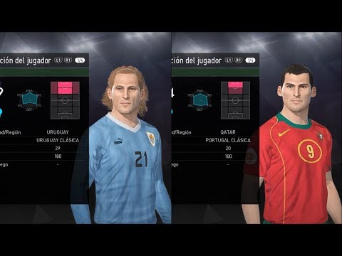 URUGUAY CLASICA & PORTUGAL CLASICA - PES 2018 (PS4) + LINK