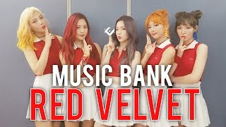 RED VELVET | MUSIC BANK live stage reaction (Russian Roulette)
