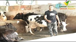 Young Dairy Farmer come back from Italy and started dairy farm with own Innovation