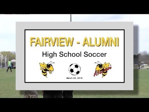 2018 3 23 SPORT FVHS Soccer vs Alumni