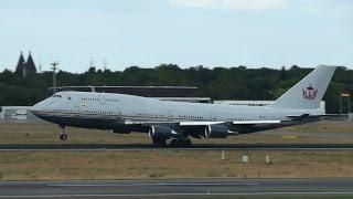 Sultan of Brunei Boeing 747 Takeoff at Berlin Tegel Airport HD (1080p)