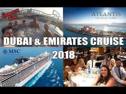 DUBAI & MIDDLE EAST CRUISE VLOG | MSC SPLENDIDA