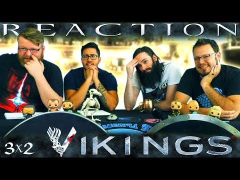 """Vikings 3x2 REACTION!! """"The Wanderer"""""""