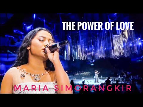 The Power Of Love by Maria Simorangkir-Indonesian Idol with Stradivari Orchestra | cover version