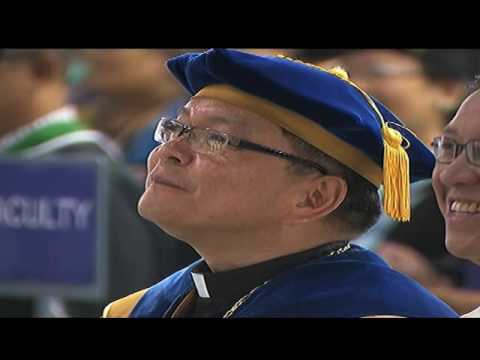PNoy gives commencement speech at ADMU