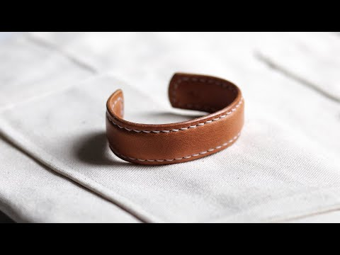 make-an-expensive-leather-bracelet-from-scraps