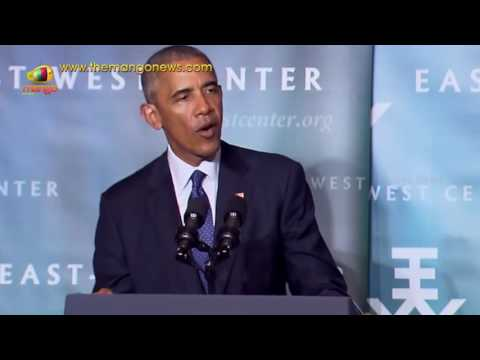 President Brack Obama Remarks Over Climate Change | Pacific Islands Conference of Leaders