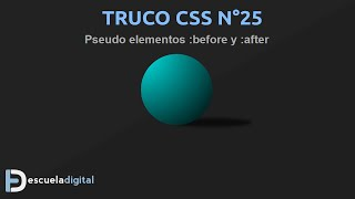Trucos CSS (25) - Pseudo elementos before y after