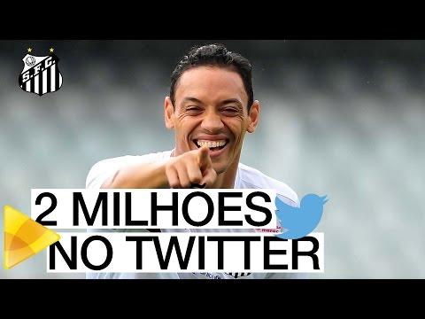 Twitter do Santos FC ultrapassa os 2 milhões de seguidores