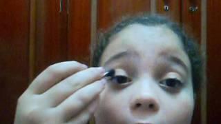 Maquiagem simples por-Clara Boroto
