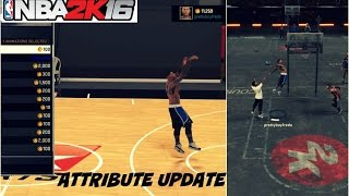 NBA 2K16| 99 OVR PG ATTRIBUTE UPDATE | All signature style moves/NBA aniimations - Prettyboyfredo