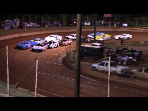 Winder Barrow Speedway Stock 4 Cylinders A's Feature Race 4/27/19