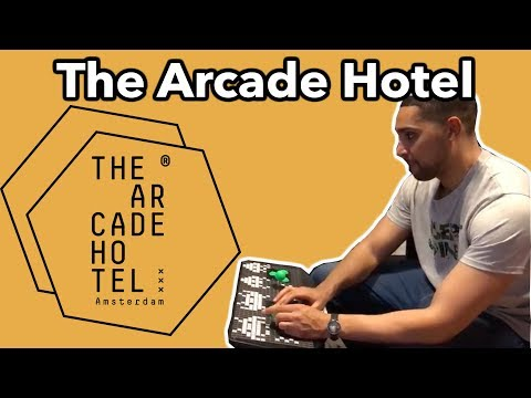 Arcade Hotel Amsterdam: Love Gaming? You Will Love This!