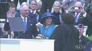 Gov. John Bel Edwards takes oath of office for second term