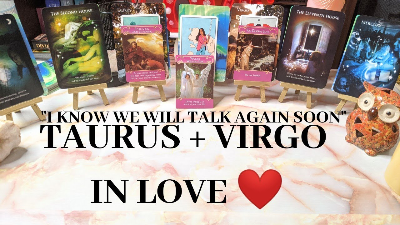 ❤️🏆TAURUS + VIRGO IN LOVE - MY BIGGEST LOVE LESSON WAS WITH YOU (DEEP TAROT LOVE READING)
