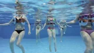 Аквааэробика во Дворце водных видов спорта