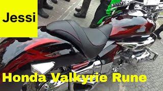 V6 Honda Motorcycle - Honda Valkyrie Rune 1800 6 cylinder sound