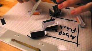 Repeat youtube video Minecraft Mischi Papercraft Action-Figur (MinecraftSven) [Papercraft Tutorial 2/2]