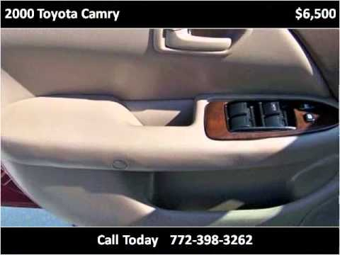 Elegant 2000 Toyota Camry Used Cars Port St. Lucie FL