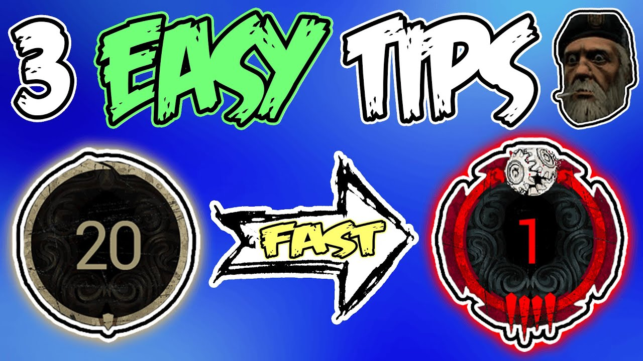 Download 3 EASY Tips to Rank up & Improve FAST as a Survivor in DBD - Dead by Daylight Guide