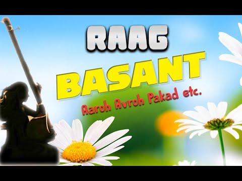 Raag Basant - Aaroh Avroh Pakad etc