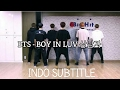 [INDO SUB] BTS BOY IN LUV Dance Practice