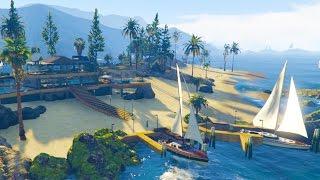 GTA 5 - SECRET PARADISE ISLAND & UNDERWATER BASE & MORE! (GTA 5 MODS)