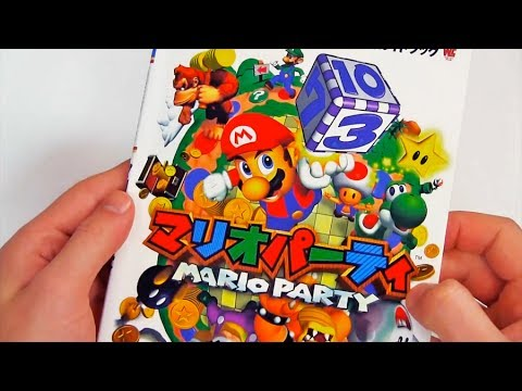 Relaxing ASMR - Mario Party N64 Guide Book