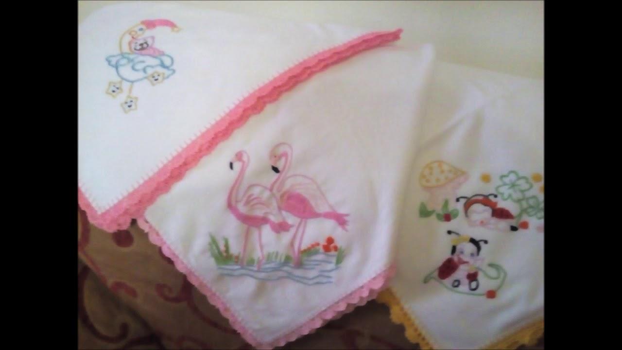 Χειροποίητες πάνες και πλεκτή κουβερτούλα για τα νεογέννητα!!! - YouTube e9b4fa0bb40