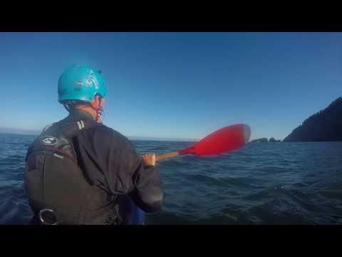 Cascade Head Oregon Sea Kayak Cave with OOPS