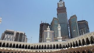 The Biggest Clock In The World / Abraj Al Bait / Mecca In Saudi Arabia