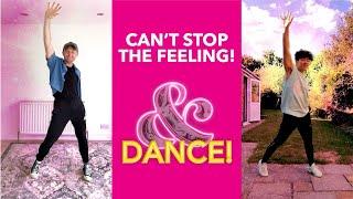 Can't Stop the Feeling! Dance Tutorial | & Juliet