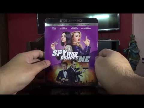 The Spy Who Dumped Me   2 Disc Set 4K UHD + BD US Import