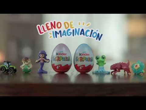 Kinder® Sorpresa, lleno de imaginación.