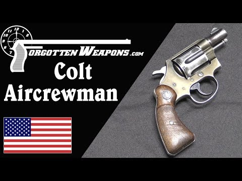 Colt M13 Aircrewman Revolver: So Light it was Unsafe