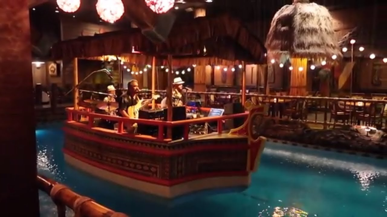 Tonga Room Hurricane Bar In San Francisco Wacky Weird Places Youtube