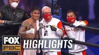Mark Magsayo and Rigoberto Hermosillo clash in PBC Fight Night main event | HIGHLIGHTS | PBC ON FOX