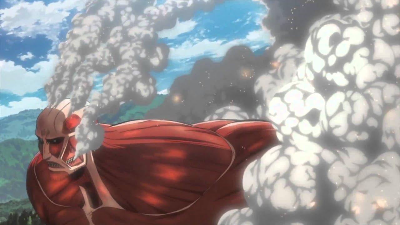 Attack On Titan Trailer Youtube