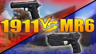1911 VS MR6 (Call of Duty Black Ops 3 Pistol Weapons Versus)