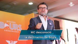 """El candidato dio a conocer una carta en sus redes sociales donde da a conocer su decisión """"para que Sonora gane"""""""