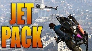 THE JETPACK IN GTA ONLINE!