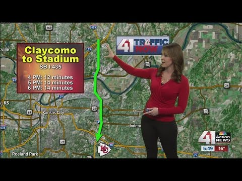 Traffic expectations for Chiefs/Raiders games