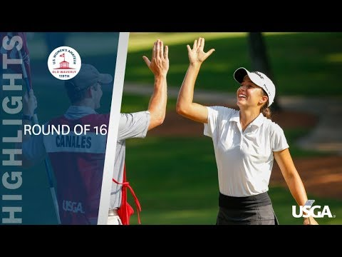 2019 U.S. Women's Amateur Round of 16: Highlights from YouTube · Duration:  20 minutes 6 seconds