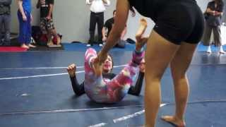 Laura Anderson: Dream Jiu Jitsu Match 1
