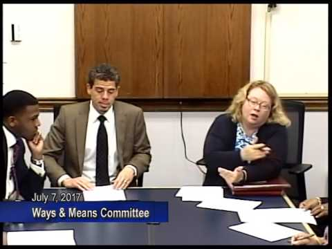 Ways & Means Committee July 7, 2017