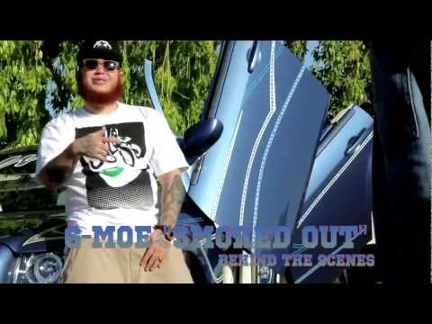 """G Moe behind the scenes of """"smoked out"""" with ps3films@yahoo.com directed by Carlos Berber"""